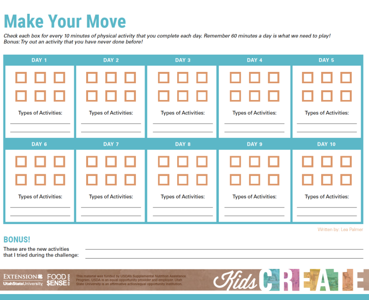 Make Your Move 10 Day Challenge